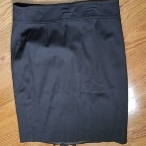 Elie Tahari brown wool skirt with pleat size 8